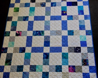 Classic Blue and White Quilt