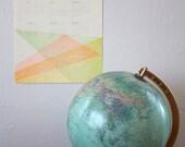 SALE!! 2014 Letterpress Calendar