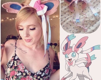 Sylveon Headband Ear Warmer