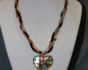 Multi-strand necklace