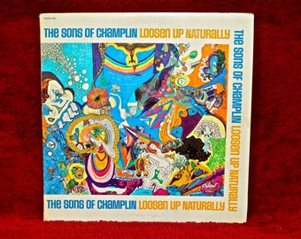 The SONS OF CHAMPLIN - Loosen Up Naturaly - 1969 Vintage Vinyl 2 lp Record Album