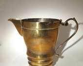 Gold Plated Pitcher