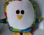 Plush Angry Birds Penguin Pillow Pal, Baby Safe, Machine Washable