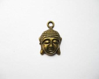 SALE -  Buddha Charms in Bronze Tone - C549
