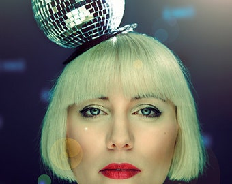 Fabulous Disco ball Fascinator