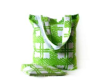 Green Tote Bag, Pouche, Tote Bags, Purses
