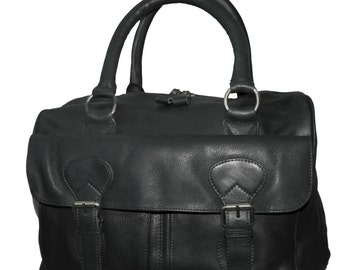 The Ultimate Black large leather bag