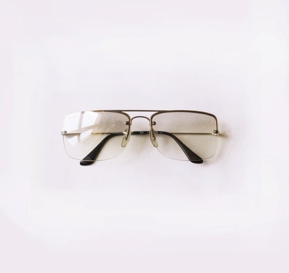 Ray Ban Vintage Glasses Frames : Ray Ban B&L glasses / 80s Vintage ray-ban clear lenses