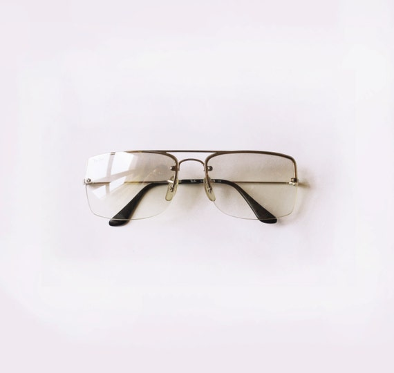 Ray Ban B&L glasses / 80s Vintage ray-ban clear lenses