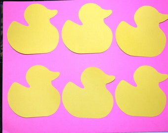 Duck Cut Outs (Various Sizes and Colors Available)