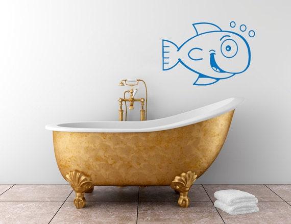 Fish Bathroom Decor