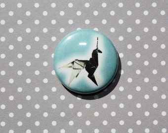 Blade Runner Unicorn Replicant Deckard- One Inch Pinback Button