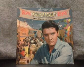Sale! Elvis Presley Roustabout. The Original Soundtrack Album. Vintage vinyl LP 33 record album. 1965 RCA Victor black label mono LPM-2999