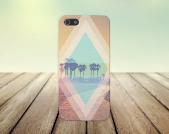 Summer at the Beach x California Palms Case for iPhone 6 6 Plus iPhone 7  Samsung Galaxy s8 edge s6 and Note 5  S8 Plus Phone Case