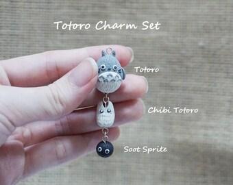 Totoro Charm Set