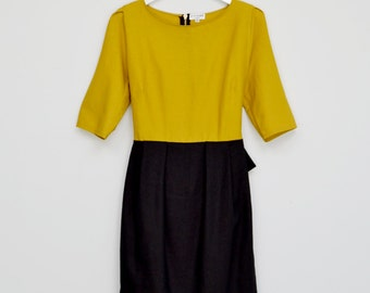 Black Ribbon Dress