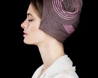 Straw Cloche - Behida Straw Hat