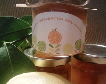 Lemon Margarita Marmalade/ 4 oz/ Wedding Welcome bags/Wedding Favor