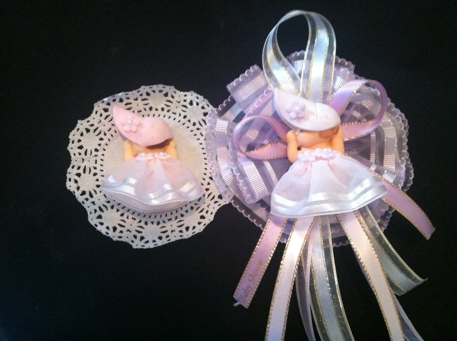 baby shower corsage mom to be corsage baby by partyfavorsmiami