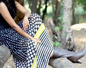 Black polka dot skirt, long skirt fashion,Yellow plaid skirt,cheap skirts for women,maternity skirts,ladies skirts,gypsy skirts