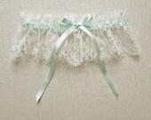Antiquity lace silk garter