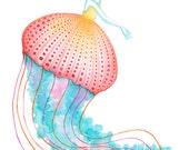 Print /Jellyfish Girl