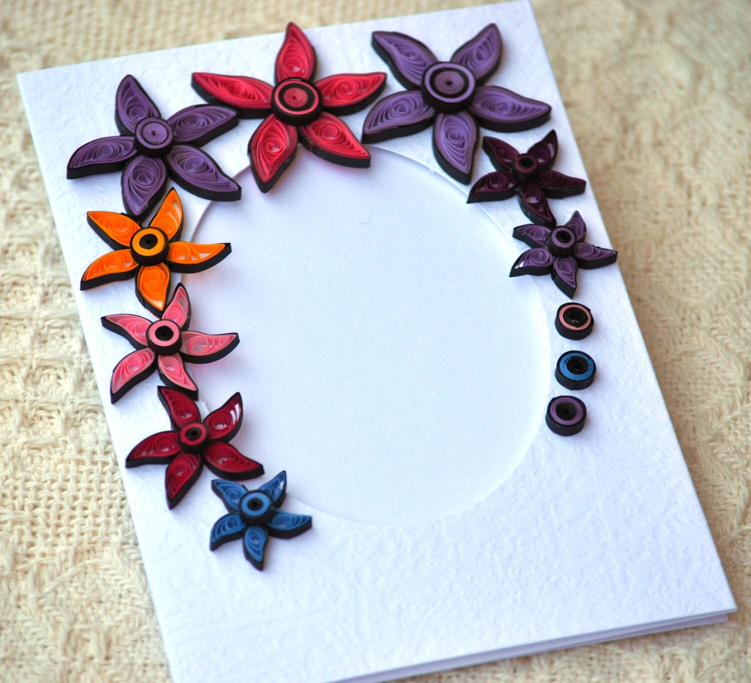 Quilling designs for photo frames for kids for Best quilling designs