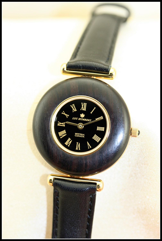 womens wooden black black watches