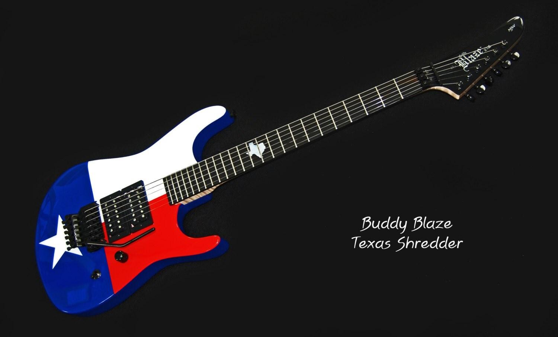 buddy blaze texas shredder 6 string electric guitar. Black Bedroom Furniture Sets. Home Design Ideas