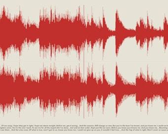 Waveform Band Art