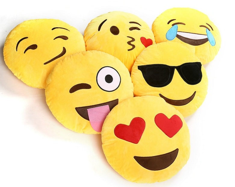 Omg Emoji Pillows Yes On The Hunt