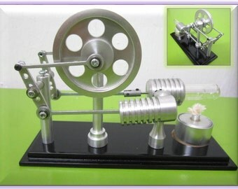 Stirling engine, hot air stirlingmotor ,handmade aluminium science project , education toys