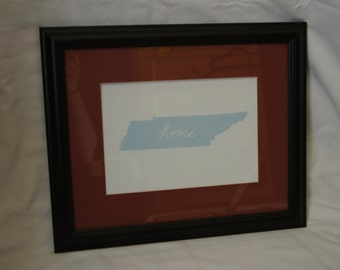 """Tennessee """"Home"""" Print (Unmatted)"""