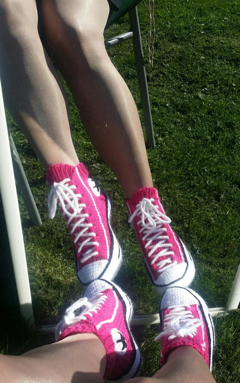 Converse Sneaker Slipper Pattern