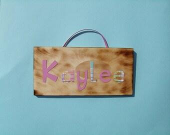 Kaylee name sign