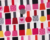 Fat quarter - Garden Nailpolish - Ann Kelle This and That - Robert Kaufman cotton quilt fabric