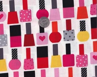 One yard - Garden Nailpolish - Ann Kelle This and That - Robert Kaufman cotton quilt fabric
