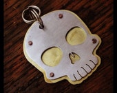Skull Pet Tag, made to size for your pet