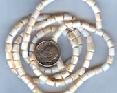 """Mosaic Strawberry Natural Conch Shell Heishi Beads 5mm 16"""" Strand"""