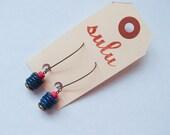 Lapis Stacks Earrings