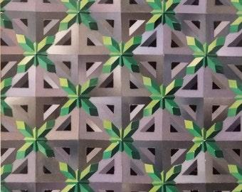 Crystalline - Original Collage Artwork