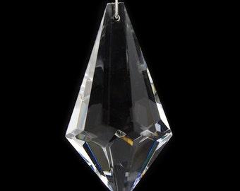 63mm Pyramid Prism Chandelier Drop #9045