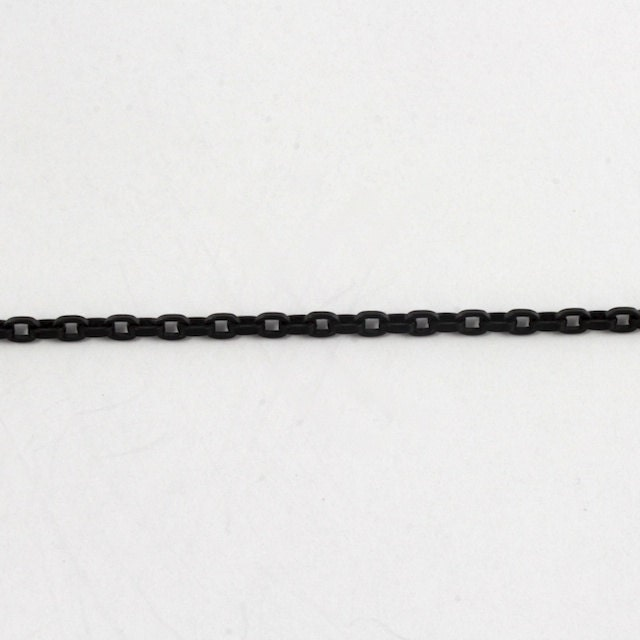 matt schwarz 25 x 35 mm quadrat draht kabel kette cc47. Black Bedroom Furniture Sets. Home Design Ideas