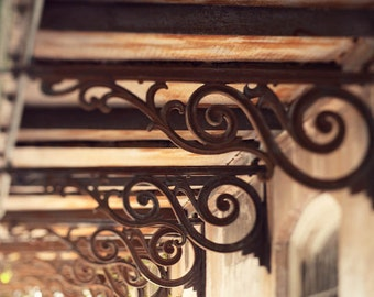 savannah georgia, architectural details, spiral, building photography, brown wall art, abstract decor