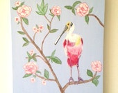 TROPICAL CHINOISERIE Original Painting