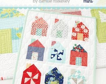 MINI Dwell quilt pattern from Thimble Blossoms