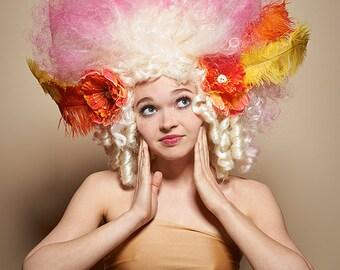 Astible's Garden Party Art Wig