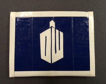 Doctor Who Adipose Duct Tape Wallet