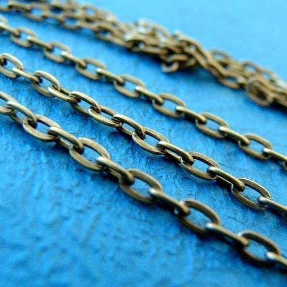Sale 10 Feet Antique Bronze Cross Chains CHT013Y-AB