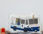 Mini Plush Ice Cream Truck